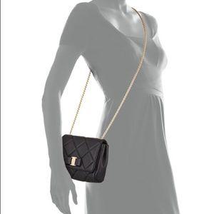 Authentic Salvatore Ferragamo Quilted Vara Bag